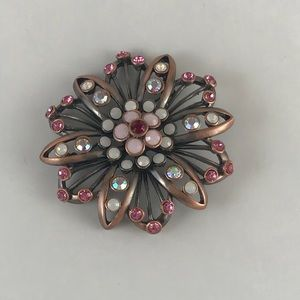 Premier Designs Pink Pin Brooch